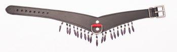 Collar - V - Red gems - 153